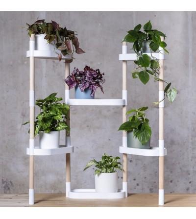 Étagère pour plantes à 6 plateaux