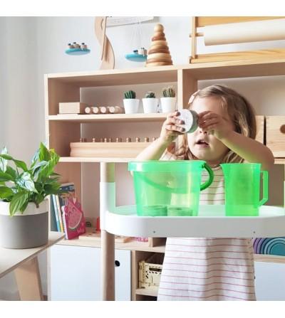 CitySens shelves with educational kit