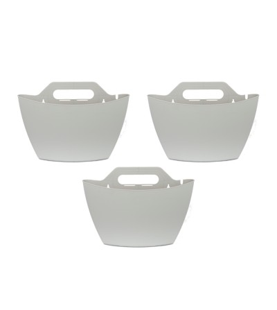 Pack di 3 vasi da parete