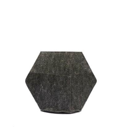 Fodera in tessuto per vaso da parete