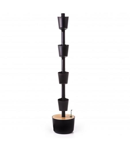 Torretes negres 100% reciclades amb reg automàtic