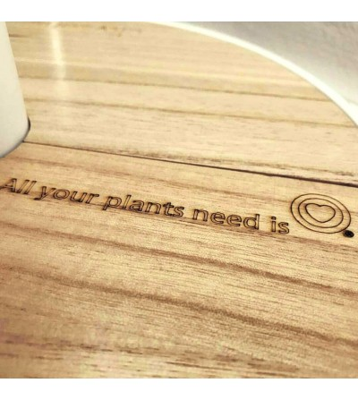 Customize the wood cover