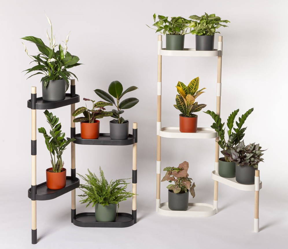 modular plant stand and shelves