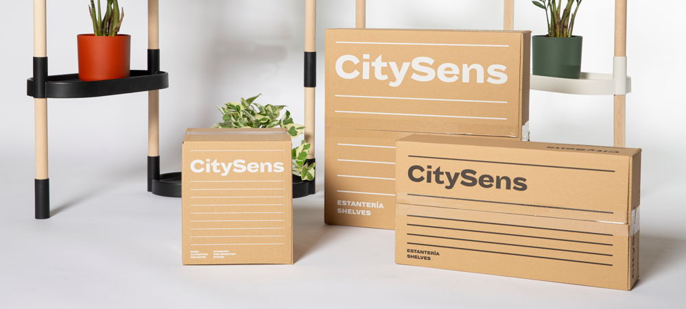Citysens packaging
