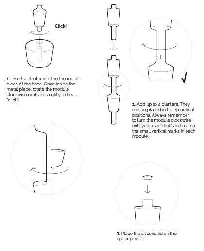 Citysens garden mounting instructions