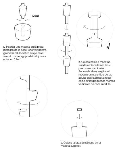 instruccions de muntatge jardí Citysens